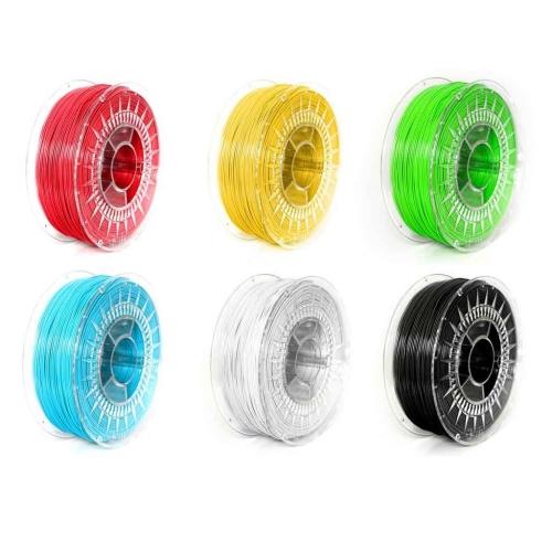 Набор ABS+ пластика 1.75 мм для 3Д (3D) печати - 6 катушек