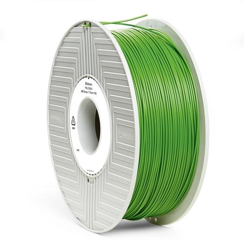 ABS 1.75 мм Зелений Пластик Для 3D Друку Verbatim