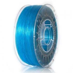 ABS+ 1.75 мм Блакитний Прозорий Пластик Для 3D Друку Devil Design (Польща)