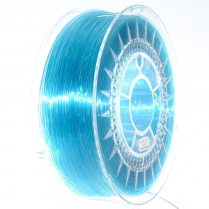 PET G 1.75 мм Блакитний Прозорий Пластик Для 3D Друку Devil Design (Польща)