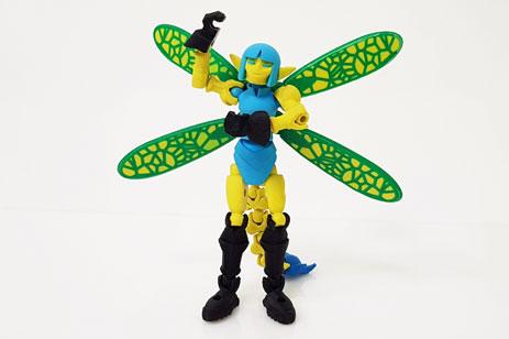 3D друк іграшки Піксі